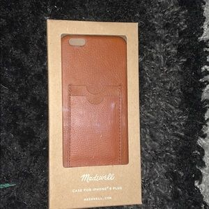 Never used iPhone 6 Plus case with card holder!